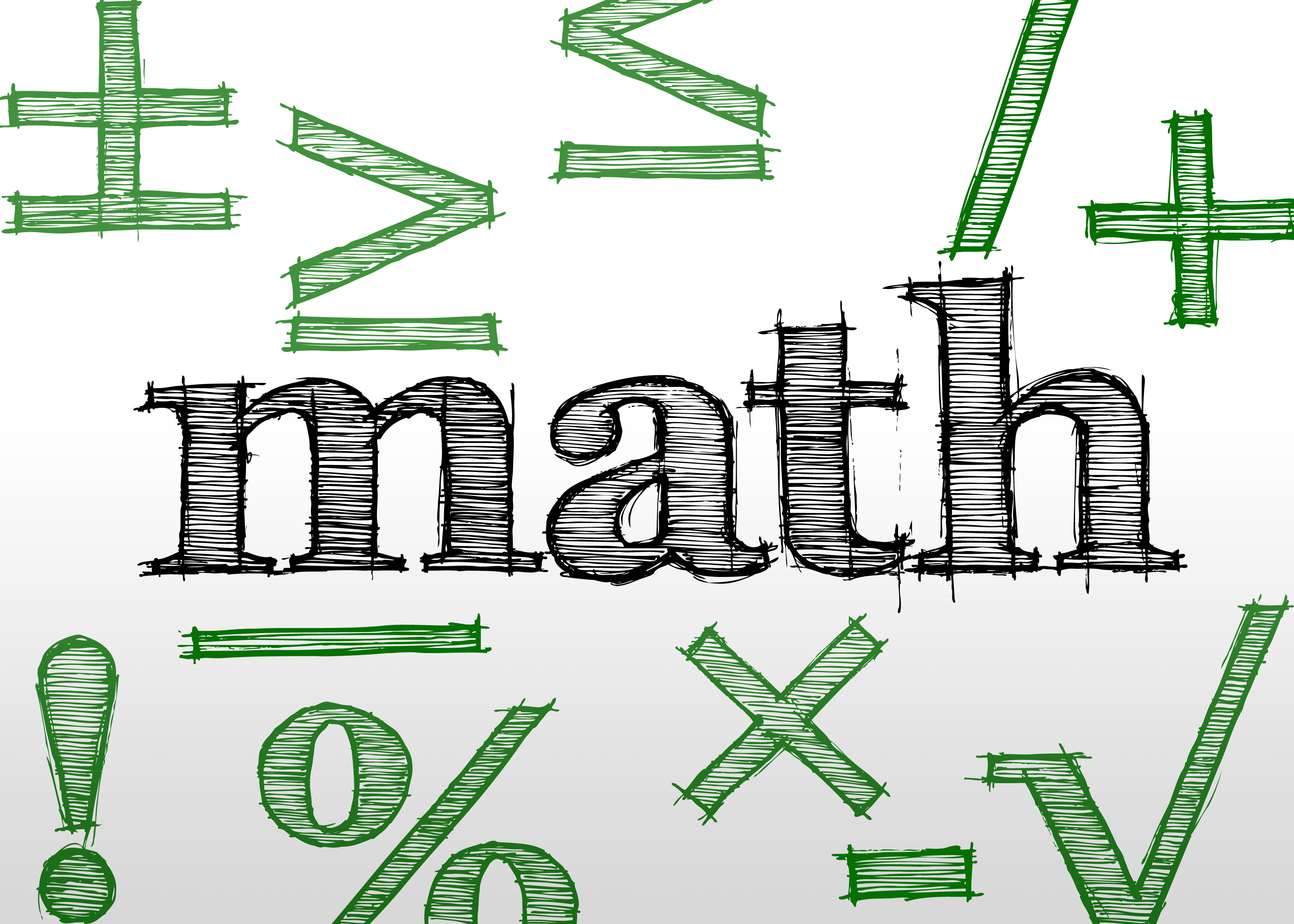 Free Stock Photo 1513-Learning Maths | freeimageslive
