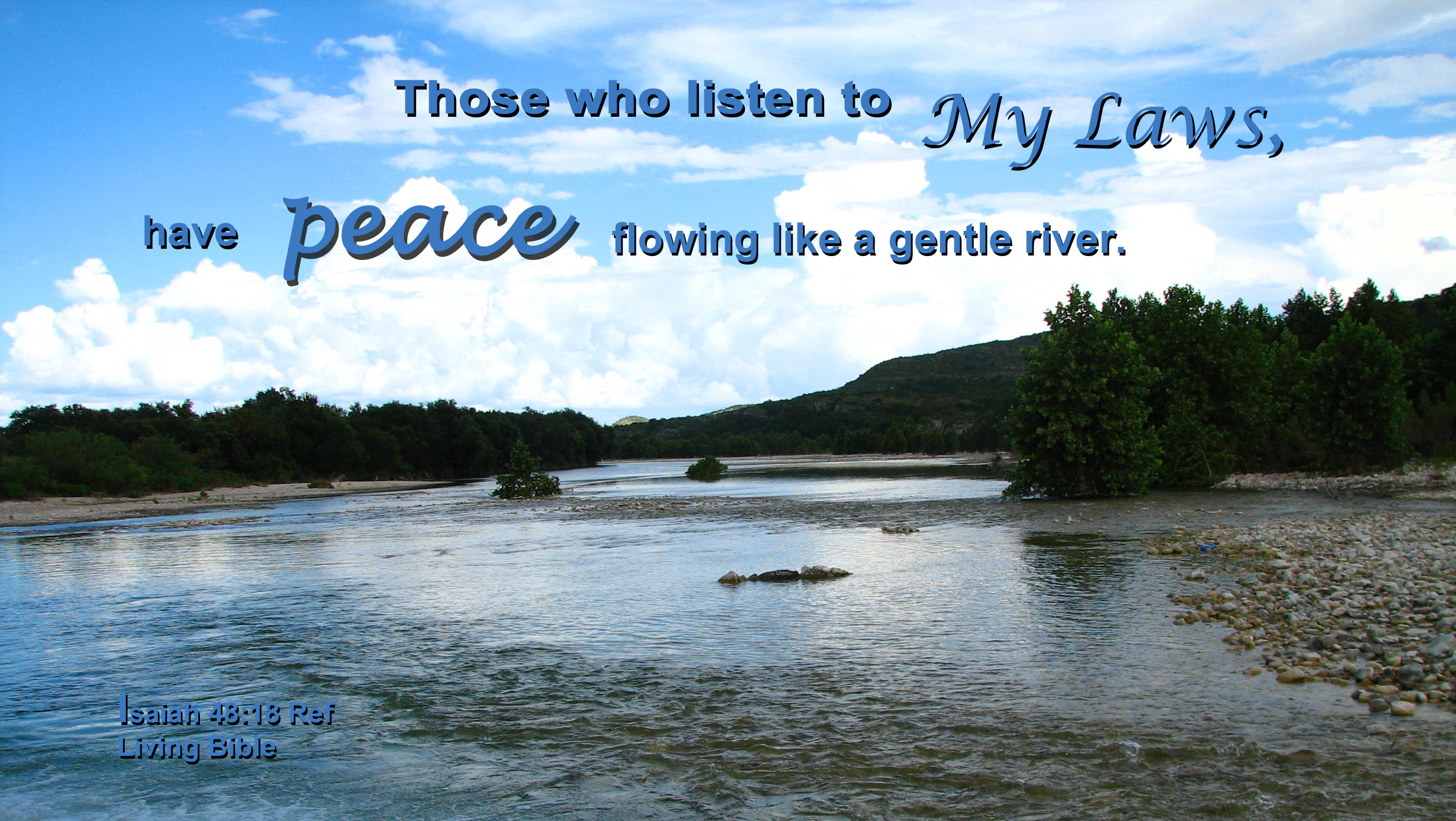 Free Stock Photo 16929 Peace Like A River Freeimageslive