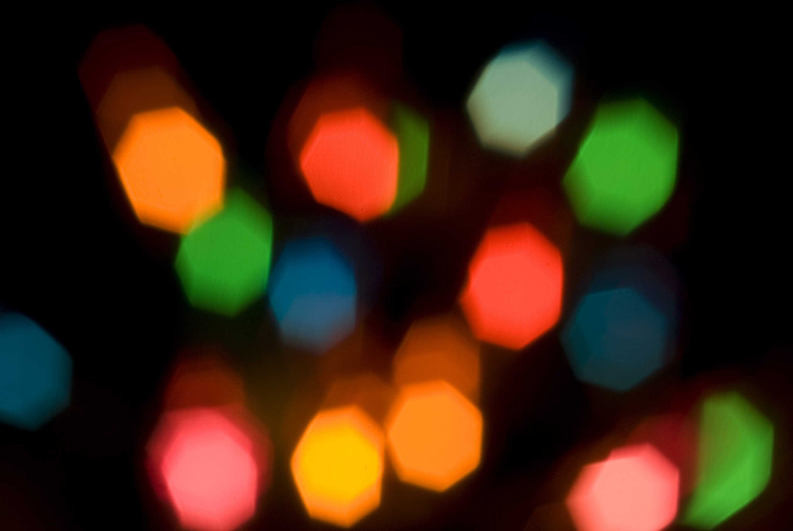 Free Stock Photo 1867 Heptagon Bokeh Freeimageslive