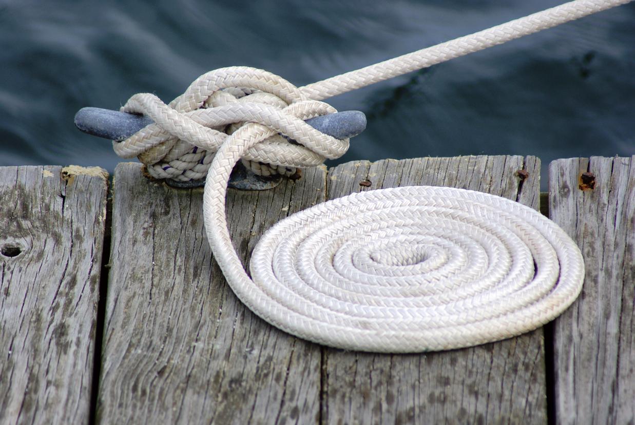 Free Stock Photo 3667-Marine Rope | freeimageslive